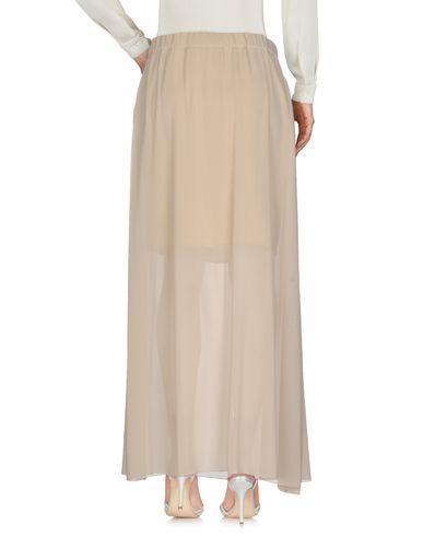 Фото 2 - Длинная юбка от FABIANA FILIPPI бежевого цвета