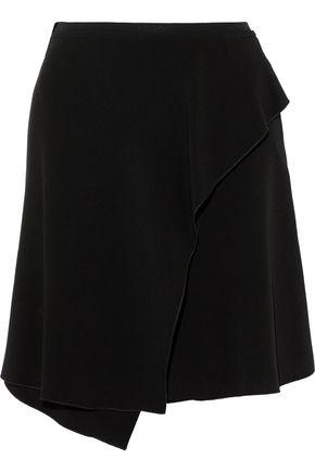 ISABEL MARANT Alize wrap-effect crepe mini skirt