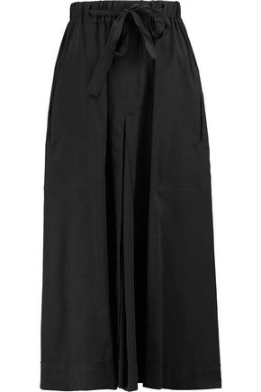 ISABEL MARANT Dezi stretch silk and wool-blend midi skirt