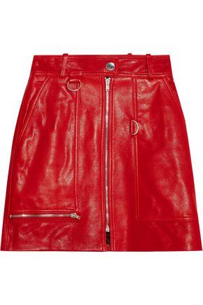 ISABEL MARANT Embellished leather mini skirt