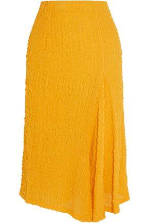 VICTORIA BECKHAM Silk-seersucker skirt