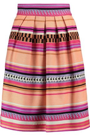 TEMPERLEY LONDON Charm jacquard skirt
