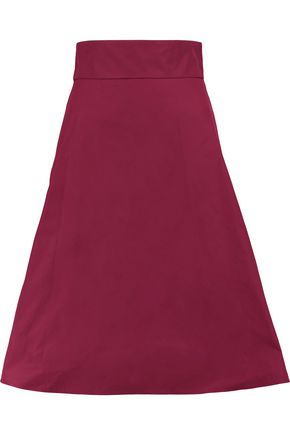 REDValentino Fluted satin skirt