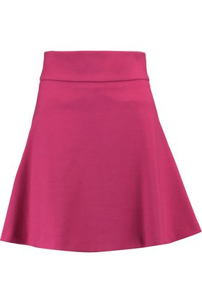 REDValentino Flared crepe mini skirt
