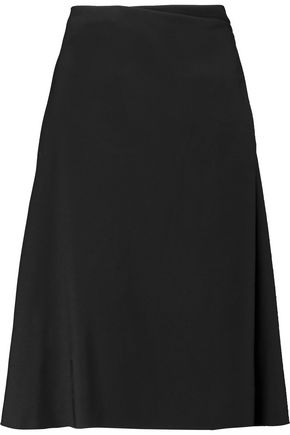 LANVIN Wool-crepe skirt
