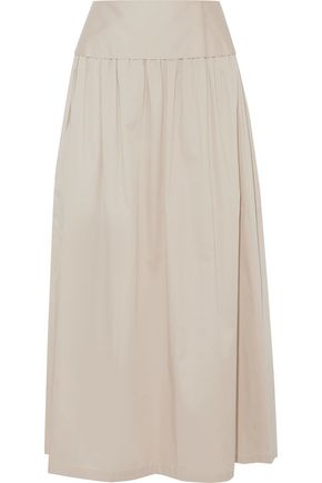 OPENING CEREMONY Layered cotton-blend maxi skirt