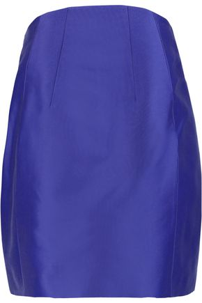 CARVEN Satin mini skirt