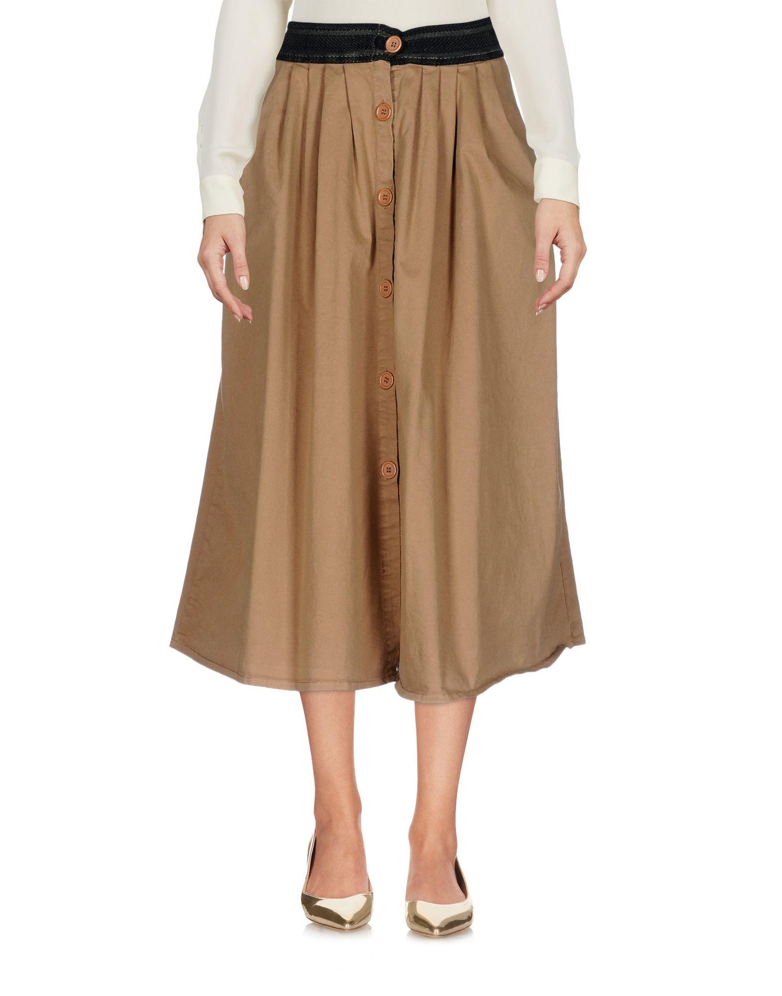 BOUTIQUE de la FEMME Юбка длиной 3/4 brunotti свитер brunotti 142221902 flower мультицвет