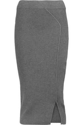 MILLY Stretch-knit skirt