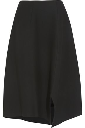 MARNI Asymmetric wool skirt