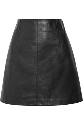 CHLOÉ Leather mini skirt
