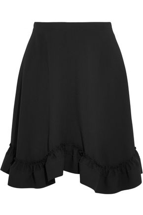 CHLOÉ Ruffled crepe mini skirt