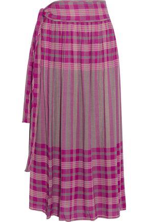 APIECE APART La Ellisa printed voile skirt