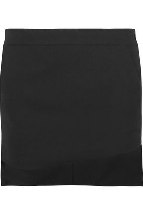 HAIDER ACKERMANN Asymmetric wool mini skirt