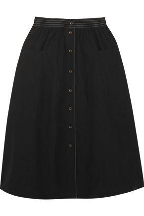 TOMAS MAIER Cotton-poplin midi skirt