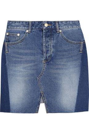 SJYP Denim mini skirt