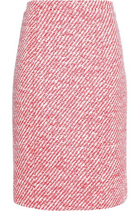 OSCAR DE LA RENTA Tweed skirt