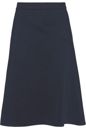 JIL SANDER Stretch-wool midi skirt