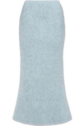 VIONNET Mohair-blend skirt