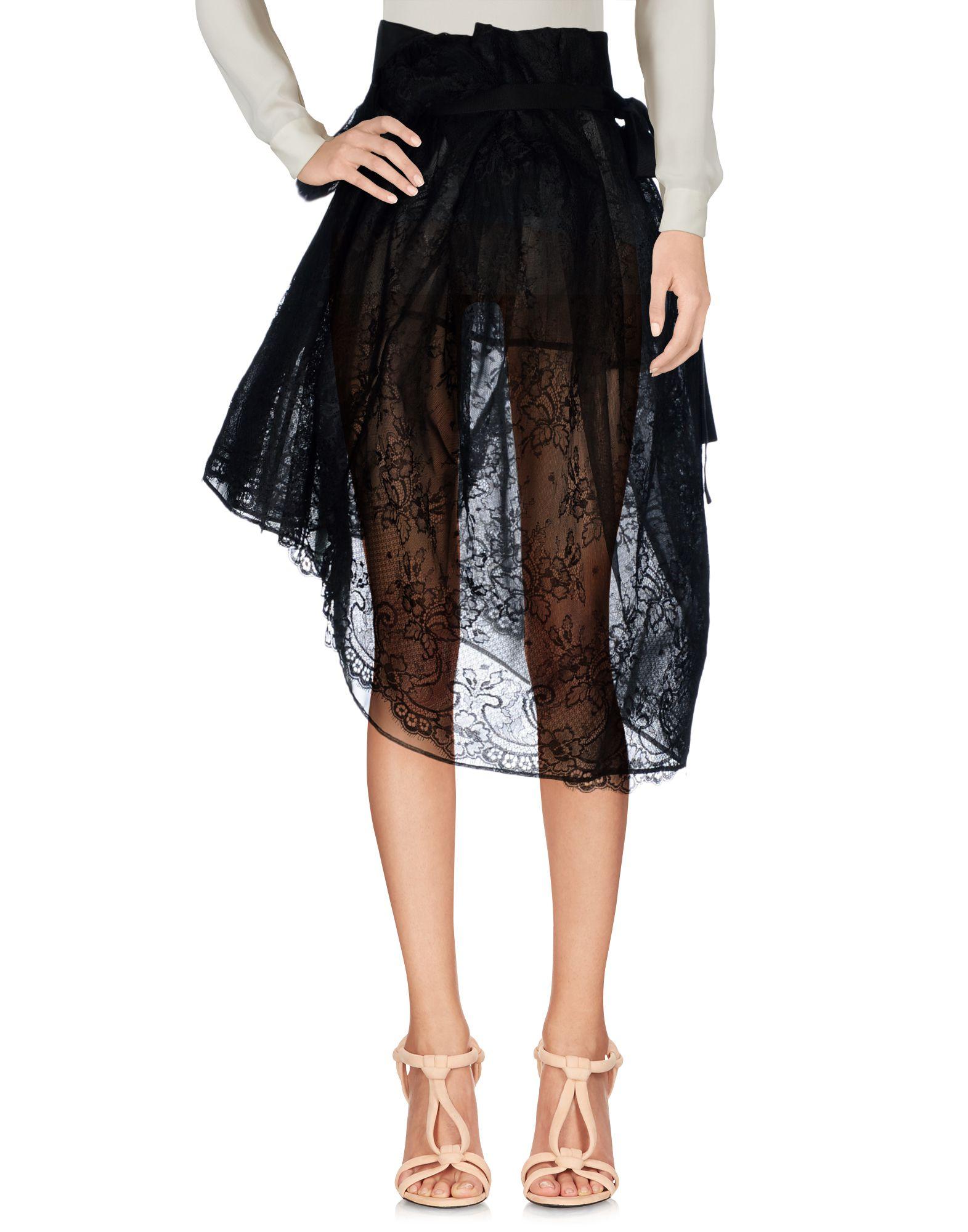 MAISON MARGIELA Юбка длиной 3/4 moschino couture юбка длиной 3 4