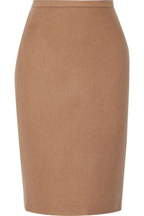 MAX MARA Camel hair mini skirt