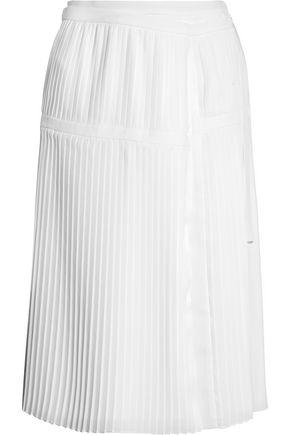 ALTUZARRA Mayumi pleated crepe skirt
