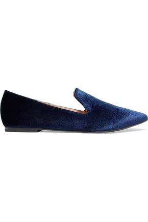 IRIS & INK Chloe velvet slippers