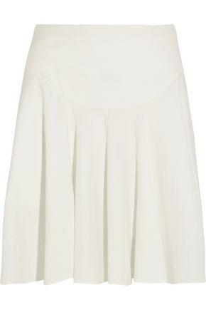 CHLOÉ Pleated cady mini skirt