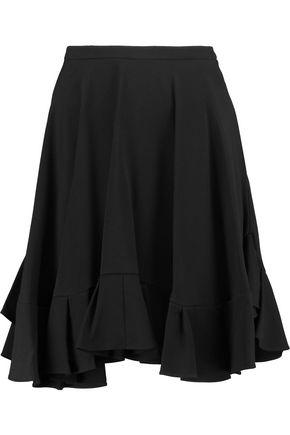 CHLOÉ Flounce crepe skirt