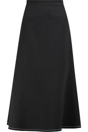 ELLERY Beedee flared crepe midi skirt