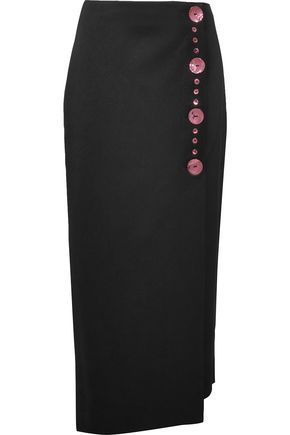 ELLERY Jacques satin skirt