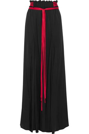 ELLERY Milo stretch silk-blend maxi skirt
