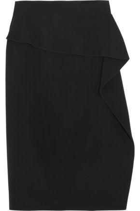GUCCI Stretch-cady wrap skirt