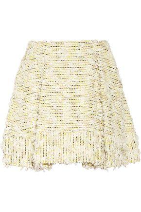 3.1 PHILLIP LIM Textured-tweed mini skirt