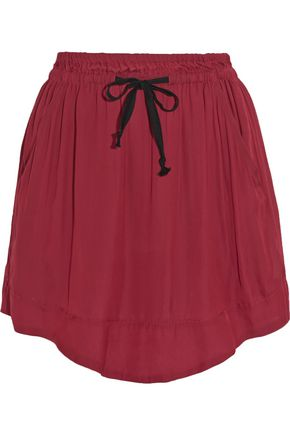 ISABEL MARANT ÉTOILE Brick voile mini skirt