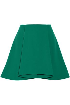 OPENING CEREMONY Walt pleated stretch-crepe mini skirt