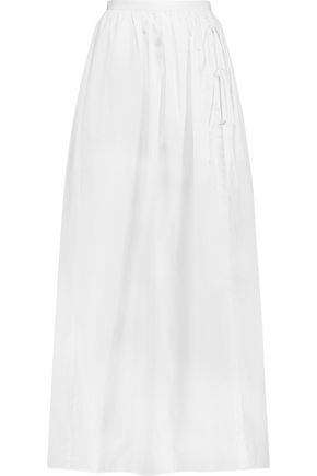TIBI Cotton maxi skirt