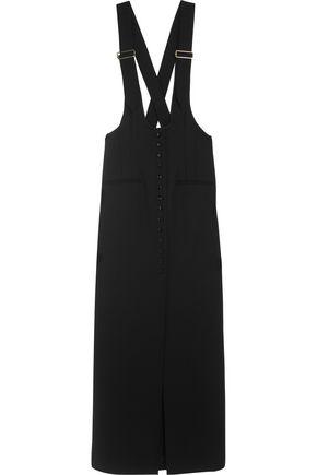 LANVIN Wool-gabardine maxi skirt