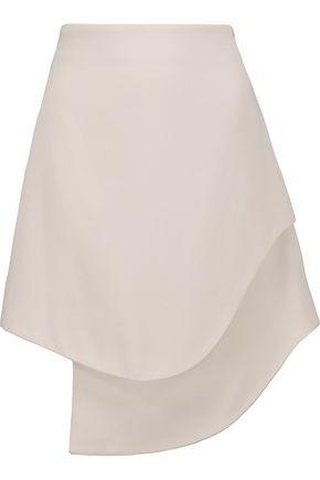 OPENING CEREMONY Crepe asymmetric mini skirt