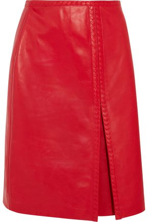 BOTTEGA VENETA Leather skirt