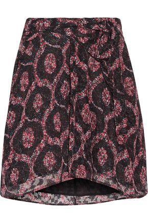 ISABEL MARANT Tilia printed georgette mini skirt