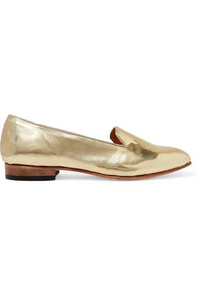 DIEPPA RESTREPO Dandy patent-leather loafers