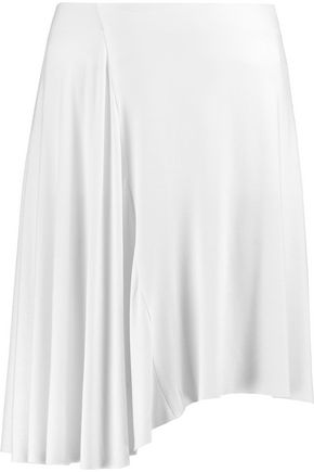 BAILEY 44 Asymmetric jersey mini skirt