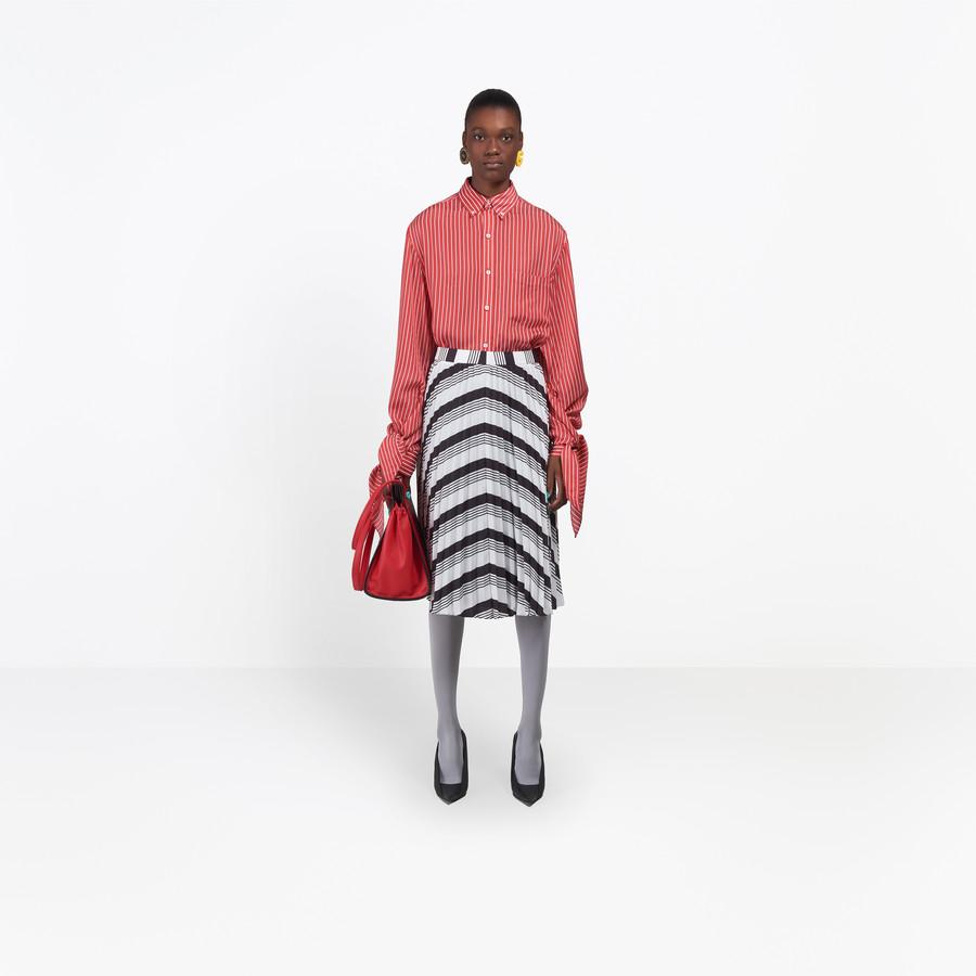 BALENCIAGA Sunray-Pleated Skirt Skirt Woman g