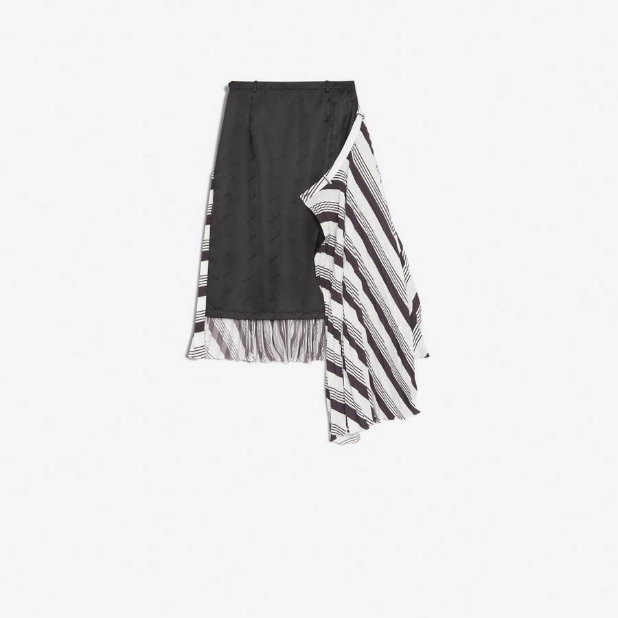 BALENCIAGA Sunray-Pleated Skirt Skirt D d