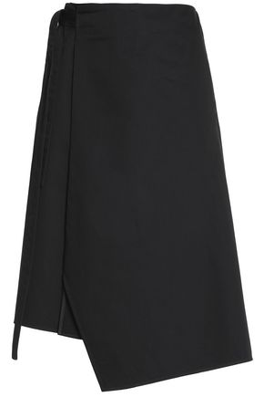 ACNE STUDIOS Printed cotton wrap skirt