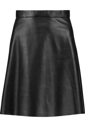 MUUBAA Pannala leather mini skirt