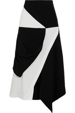 J.W.ANDERSON Asymmetric wrap-effect crepe skirt