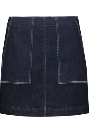 3x1 W3 denim mini skirt ...