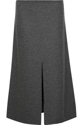 CALVIN KLEIN COLLECTION Hova wool-blend felt midi skirt